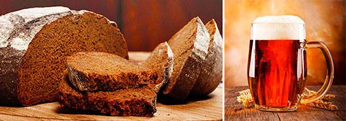 маски для укрепления волос с пивом и ржаным хлебом