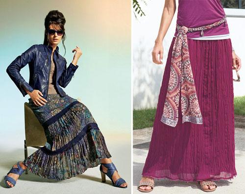 Длинные юбки - мaxiмально модно