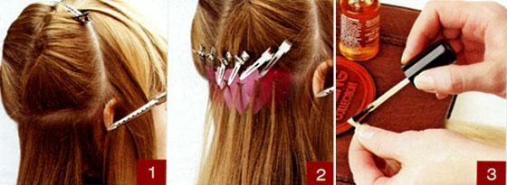 Испанское наращивание волос. Технология выполнения