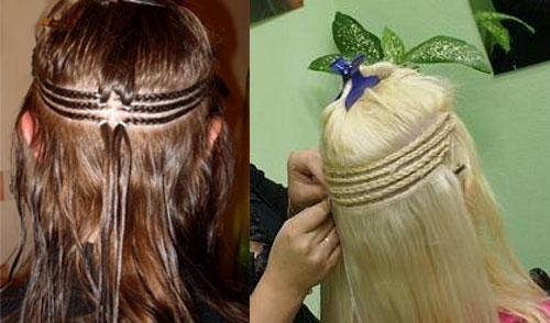 """На нашем женском сайте  """"Дамочка """" Вы в любое время можете отыскать публикацию - наращивание волос на косички..."""