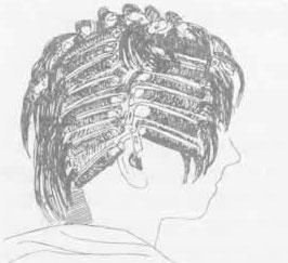 Прикорневая завивка волос