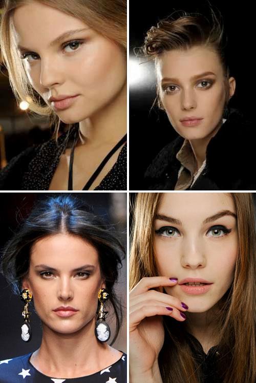 Тенденции в макияже осень-зима 2011-2012: Dolce & Gabbana