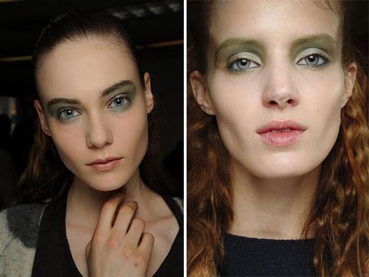Модный макияж осень-зима 2011-2012: Philip Lim