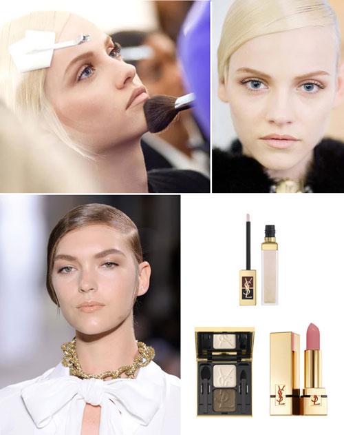 Тенденции в макияже осень-зима 2011-2012: Yves Saint Lauren
