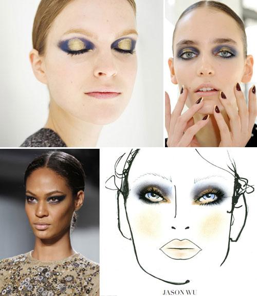 Модный макияж осень-зима 2011-2012: Jason Wu