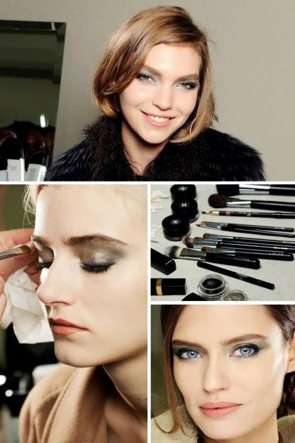 Тенденции в макияже осень-зима 2011-2012: Chanel