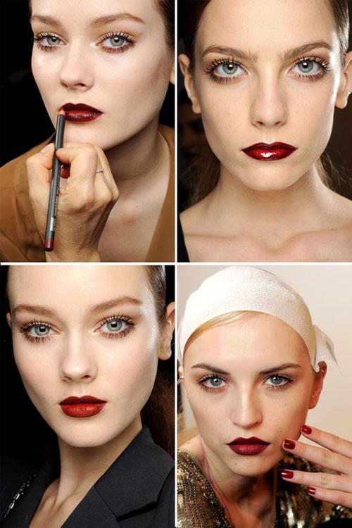 Тенденции в макияже осень-зима 2011-2012: Gucci