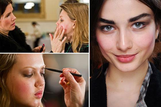 Тенденции в макияже осень-зима 2011-2012: Oscar de la Renta