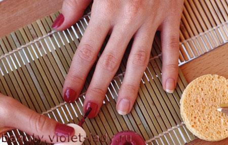 Как зрительно сделать ногти длиннее
