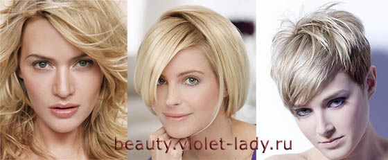 Цвета волос, подходящие женщинам «летнего» типа