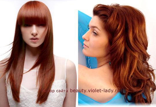 Цвета волос для женщин «весеннего» типа