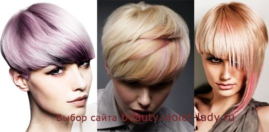 Цвет волос 2012 – яркие идеи