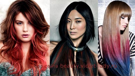 выбираем оригинальнй цвет волос