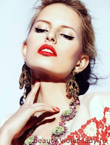 Дерзкий макияж в деталях - пошаговая инструкция