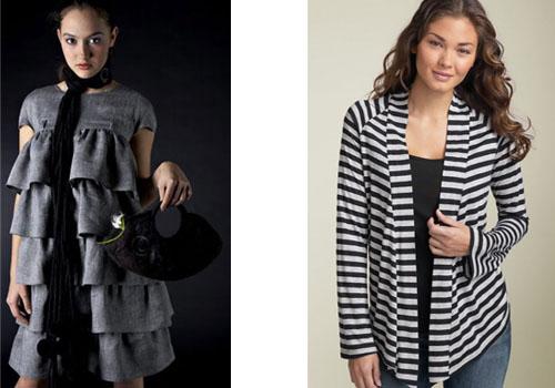 Одежда для худых женщин
