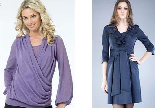 Одежда для худых женщин фото