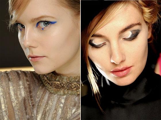 Beauty-тренды осени 2012. Яркая геометрия
