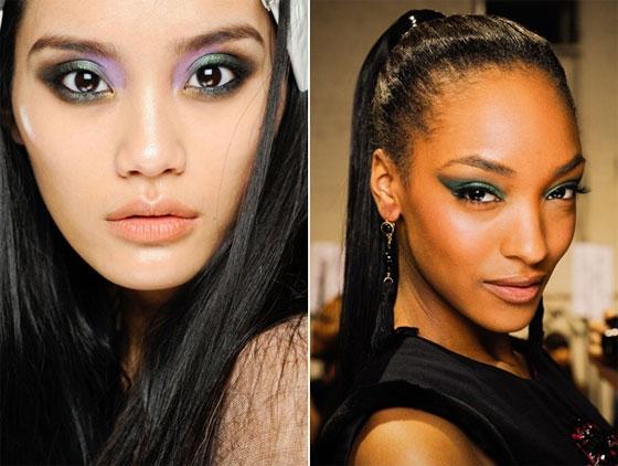 Beauty-тренды осени 2012. Сияние в стиле металлик