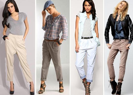 Самые модные брюки чинос, скинни, шаровары, шелковые брюки в