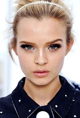 Как увеличить глаза с помощью макияжа