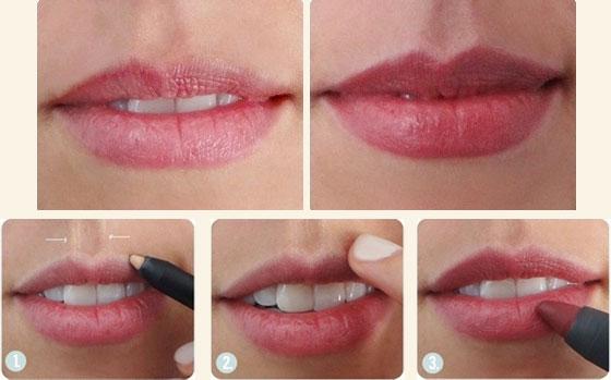 Как сделать губу светлее 24