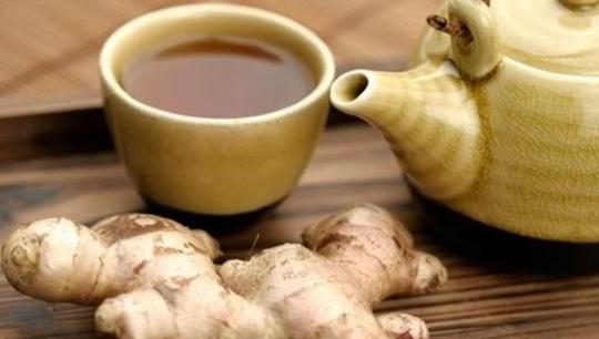 Имбирный чай - согревающий напиток