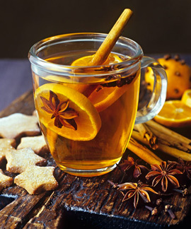 Согревающий напиток грог