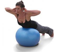 фитбол для спины