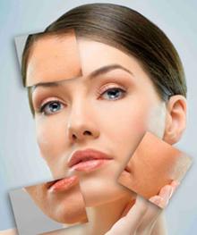 Пилинг для лица: до и после