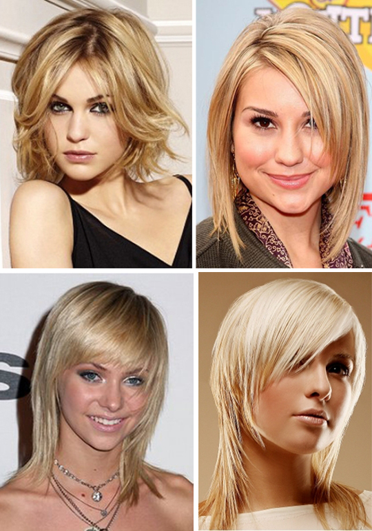 Причёски на тонкие и короткие волосы