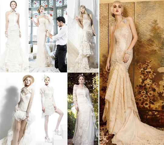 d9590be1776 Именно таковой является коллекция свадебных платьев в винтажном стиле от  испанского бренда Yolan Cris