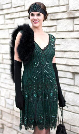 Платье в стиле Чикаго.