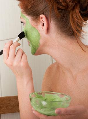 Рецепты масок для лица из зеленого чая