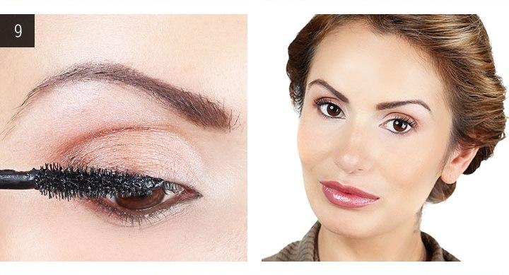 вечерний макияж для карих глаз готов