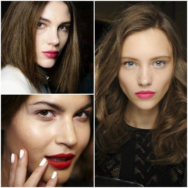 макияж губ 2014