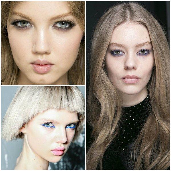 макияж глаз 2014