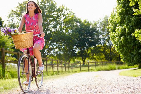 Сжигаем лишние калории на велосипеде
