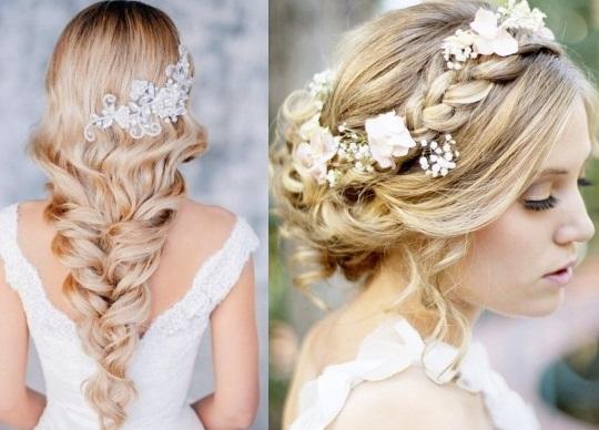 свадебные прически с косами фото на длинные волосы