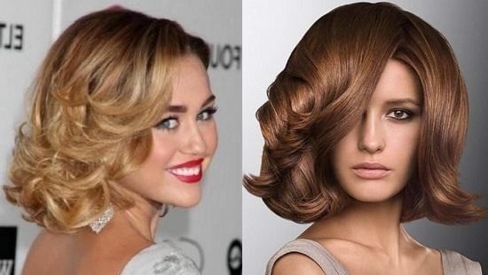 красиво уложить средние волосы феном