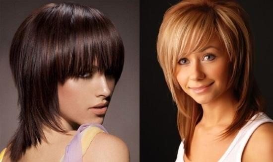 Названия стрижек на средние волосы с фото