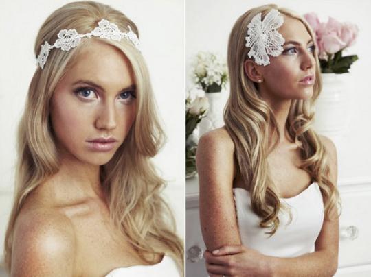 Свадебные прически с кудрями для длинных волос
