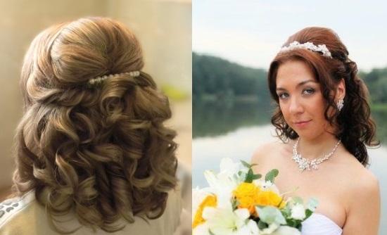 Свадебные причёски на стрижку каскад