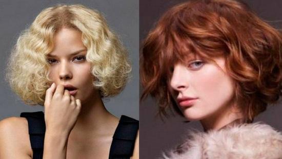 стрижка каре для волнистых волос