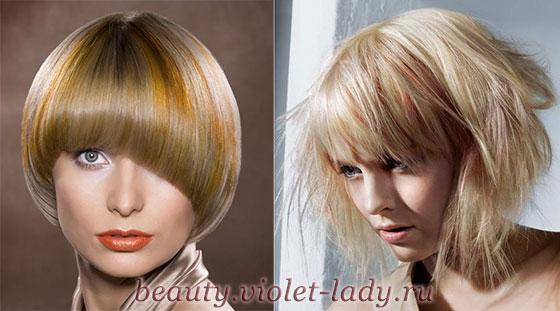 разные стили стрижей для тонких волос