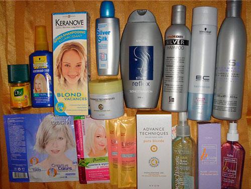 профессиональные средства для осветления волос