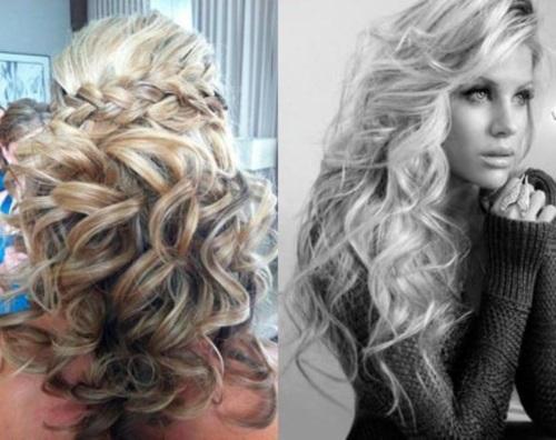 Как сделать вечернюю укладку крупными локонами на длинные волосы