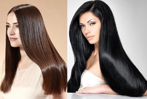как уложить длинные волосы с помощью выпрямителя