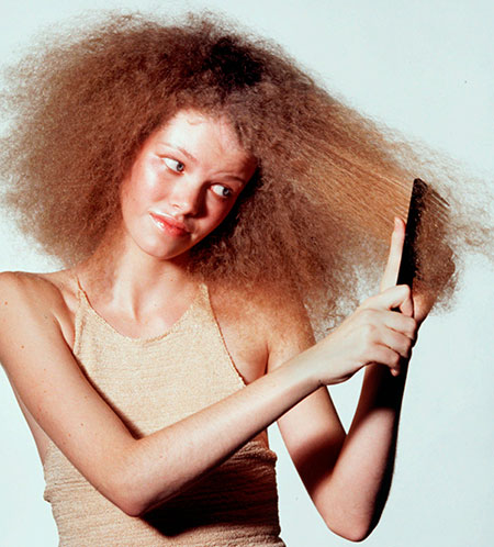 Уход за непослушными волосами