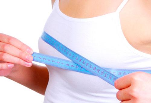 как созранить форму груди