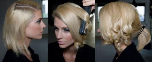 как завить волосы утюжком в домашних условиях